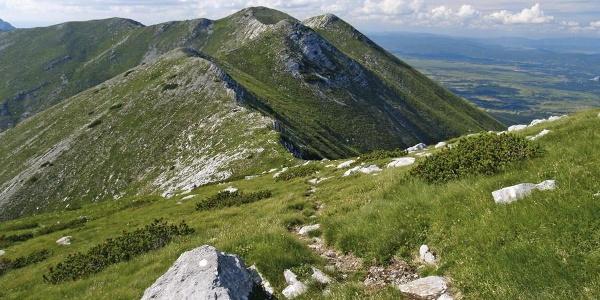 Babin vrh sa Svetog brda