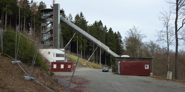 Anlaufturm der Mühlenkopfschanze
