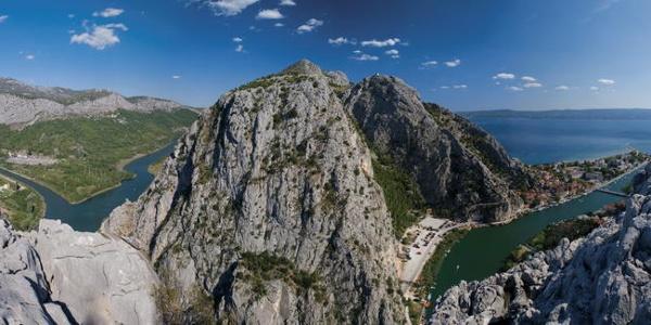 Omiška Dinara s Poljičke planine