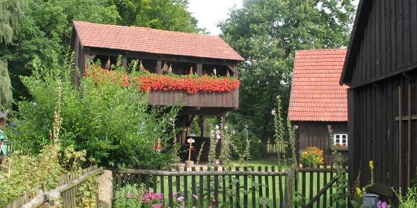Museum mit Garten im Erlichthof Rietschen