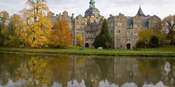 Schloss Bückeburg im Herbst