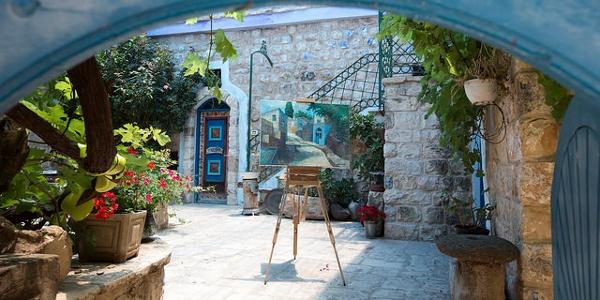 חצרות אמנים בצפת