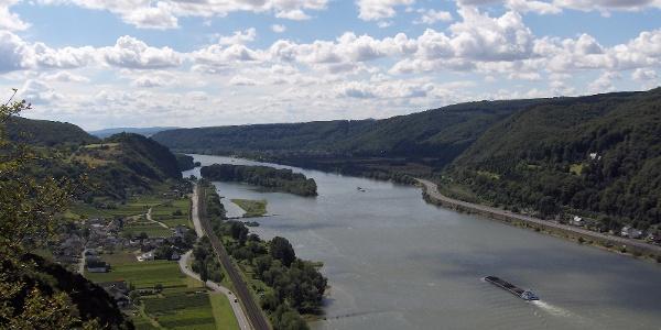 Blick von der Rheinbrohler Ley