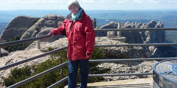 Am Gipfel des Sant Jeroni