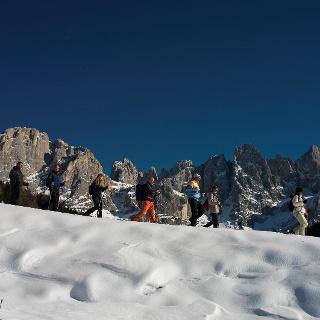 Passeggiata invernale in Val Venegia