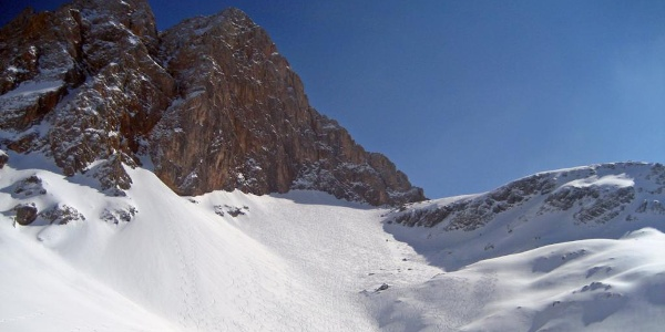 Die Hochwies | Skitour Hundstodreibn