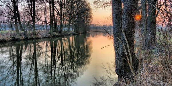 Genießen Sie den Winter im Spreewald