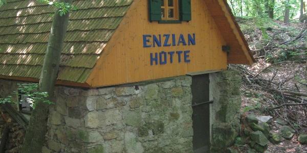Enzian Hütte am Walderlebnispfad