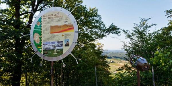 GeoTrail mit den Informationstafeln