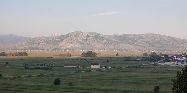 View on Duvanjsko polje