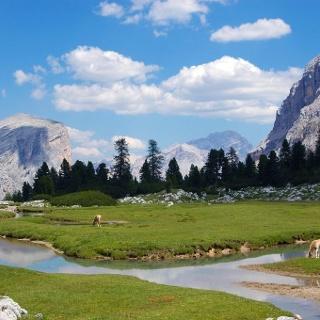Nature park Fanes - Senes - Braies, Alta Badia