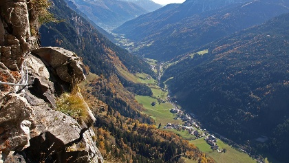 Pflersch high alpine trail