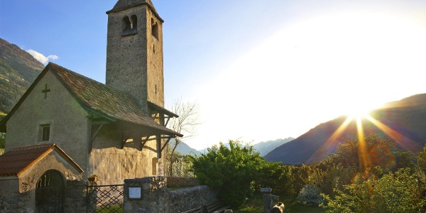 South Tyrol's Jakobsweg - Route of St. James in South Tyrol (12th Stage: Lagundo/ Algund to Castelbe