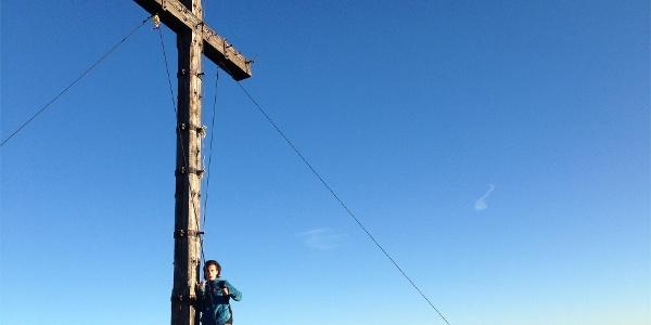 Gipfelkreuz großer Laugen