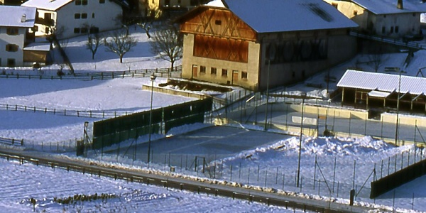 Natural Ice Rink  on the sport area