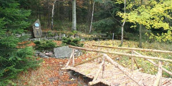 Goethedenkmal am Aschergraben