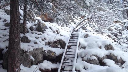 Wagnersteig bei Schnee