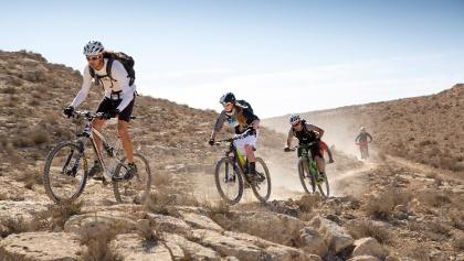 Mountainbiken in der Negev
