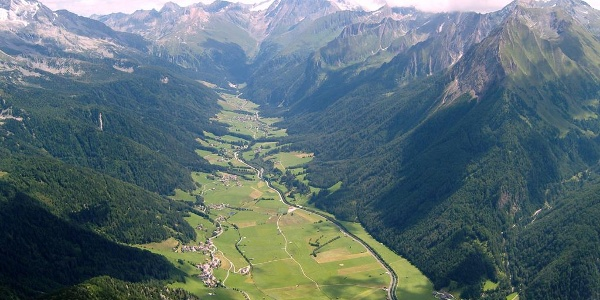 Rollspitz Pfitsch valley view