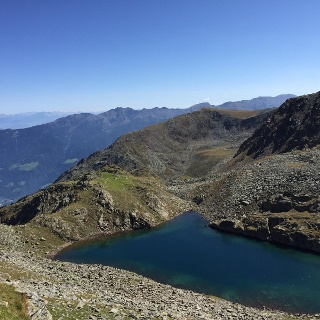 Lago di Sassalbo/Saxalbsee Lake