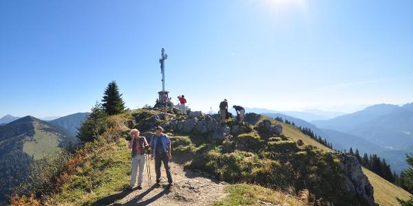 Der Gipfel des Bodenschneid - ein grandioser Aussichtspunkt