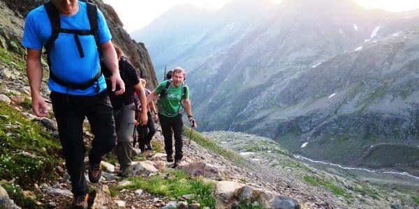 Hinten die Innere Wetterspitz (3055 m).