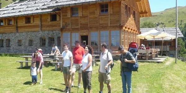 Die Kreuzwiesenhütte