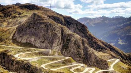 Strada della Tremola, Passo del San Gottardo
