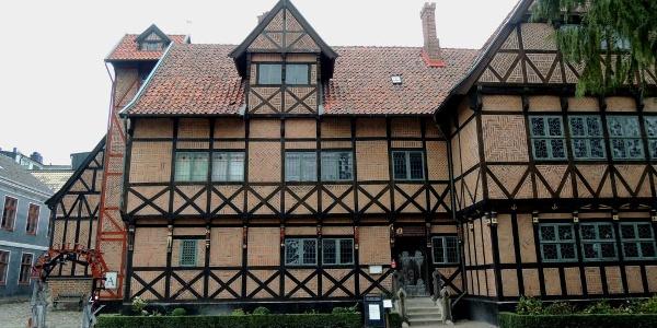 Fachwerkhaus im Museum Kulturen i Lund