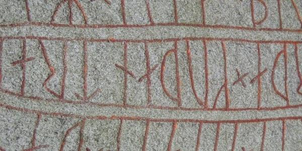 Runenstein im Museum Kulturen i Lund