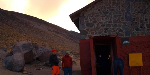 Piedra Grande Schutzhütte 4260m