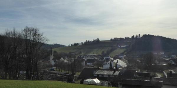 Blick auf Haibach