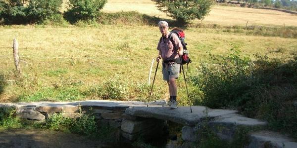 Frank Elstner ist der Tippgeber diese Tour im Ötigheimer Wald
