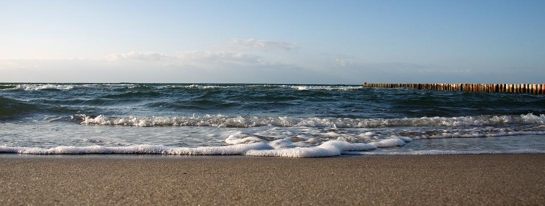 Am Strand von Zingst, Halbinsel Fischland-Darß-Zingst