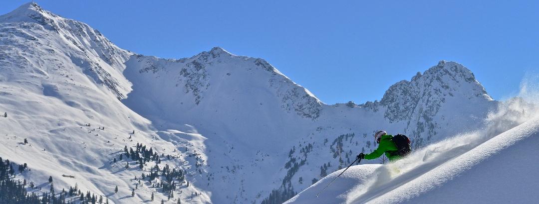Freerider am Wiedersberger Horn im Ski Juwel Alpbachtal Wildschönau