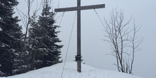 Gipfelkreuz am Feuerstätterkopf