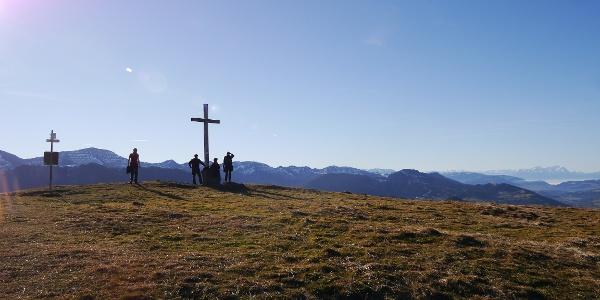 Gipfelkreuz der Salmaser Höhe