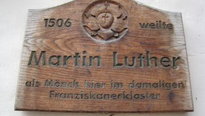 In 1506 Martin Luther stayed as a monk in the former Franciscan monastery.