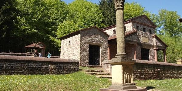 Römische Tempelanlage bei Tawern