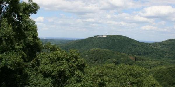 Blick über Siebengebirge