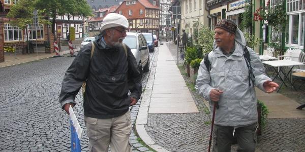 Start in Wernigerode - Marktstraße