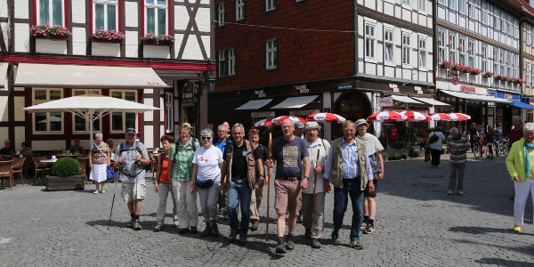 Pilgerempfang in Wernigerode
