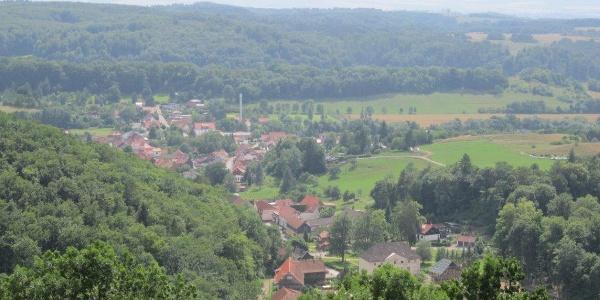 Blick auf Neustadt
