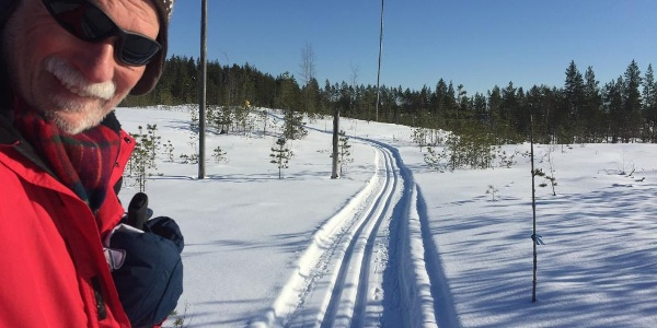 Traumwanderer auf Skiern