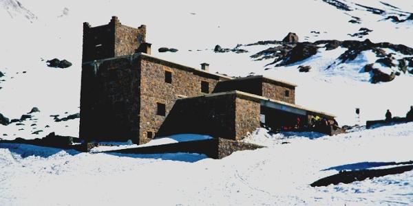 Refuge du Toubkal - Stützpunkt für Besteigung Jebel Toubkal