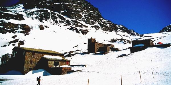 Refuge du Toubkal - im Winter