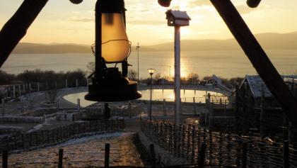 View on Busko Lake
