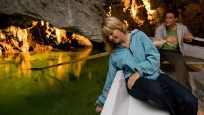 Der unterirdische See in St-Léonard