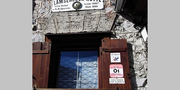 Lamsenjochhütte (26.07.2010)