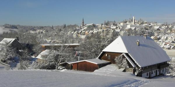 Rückblick auf das winterliche St. Georgen